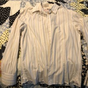 Diesel button down shirt size large
